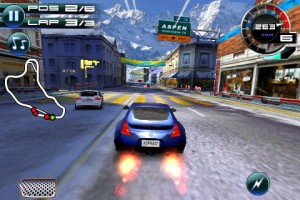 asphalt 5 iphone screenshot