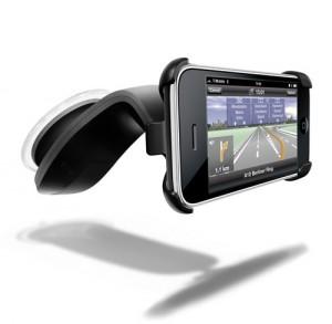 Navigon iPhone bilhållare liggande