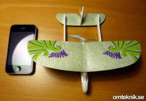 Silverlit Palm-Z radiostyrt flygplan
