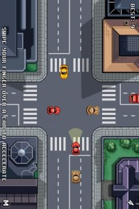 Traffic rush iphone screenshot