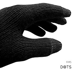 Dots gloves iphone handskar
