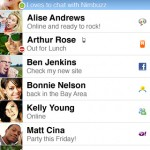 nimbuzz iphone screenshot