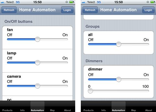 dovado iphone app