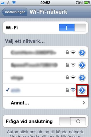 wifi fungerar inte