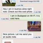 whatapp messenger iphone
