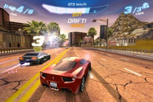 asphalt 6 iphone screenshot