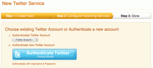 Välj twitterkonto