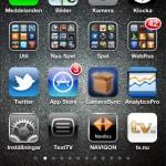 iphone screenshot hemskärm