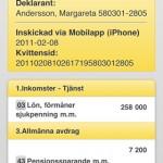 skatteverket iphone screenshot