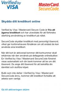 visa phishing försök
