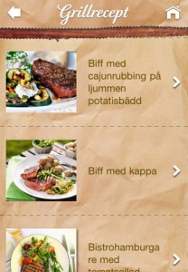 Grillfest grillrecept iphone