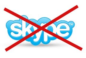 skype blockerat