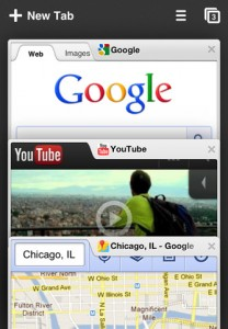 google chrome iphone screenshot