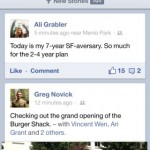 facebook app iphone
