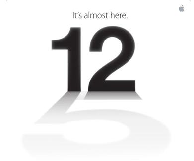 iphone 5 inbjudan