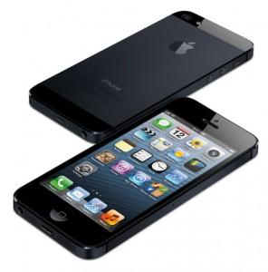 iphone 5-svart framsida baksida