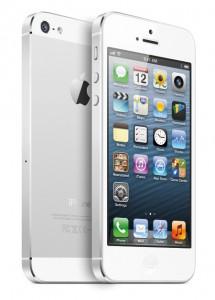 iphone 5 vit framsida baksida