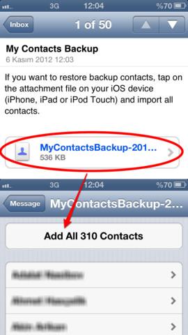 Exportera och importera iPhone-kontakter enkelt