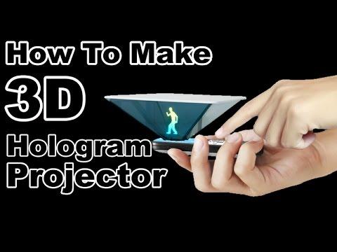 Bygg en egen hologramprojektor med din smartphone!