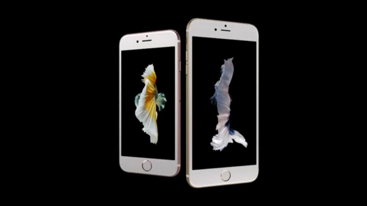 Nya iPhone 6S har 3D touch, bättre kamera och är snabbare