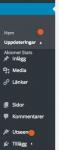 Lösning: Problemet med wp-admin menyn i WordPress på Chrome