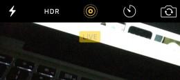 iphone live photo inställning